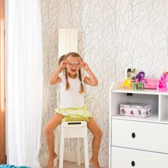 Mielec - Sypialnia dziewczynki w domu 20m²