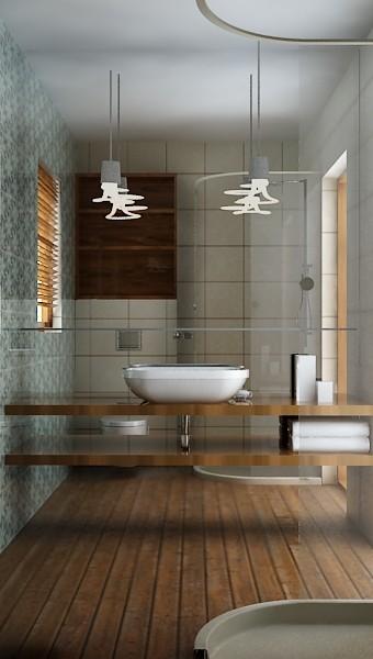Dom w Mielcu - łazienka dla gości